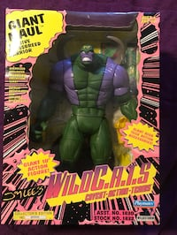 The Incredible Hulk action figure Los Angeles
