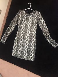 Silver& black sparkly dress Calgary, T3L 2C3