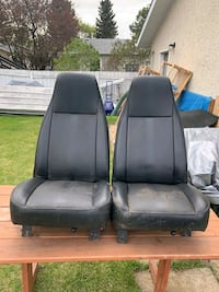 Two Older style bucket seats  Stony Plain