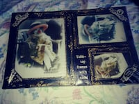 3 pictures frames ( tabletop or use easel)
