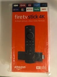 NEW Amazon 4K Fire TV Stick w. Alexa Voice Remote