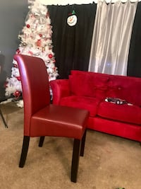 2 Dark Red Dinning Chairs(brand new & never used) Silver Spring, 20904