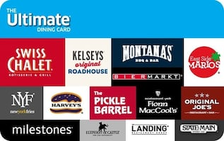 $50 Ultimate Dining Gift Card
