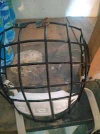 Selling. Hockey cage and gloves