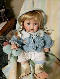 Porcelain PG collectible doll Hagerstown, 21740