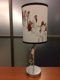 Lamp with Modern Family actors on shade New York, 10030