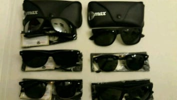 Brand new IMAX sunglasses with hard button case