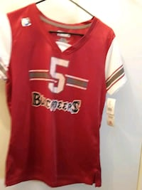 Tampa Bay Buccaneers ladies Jersey new with tags s