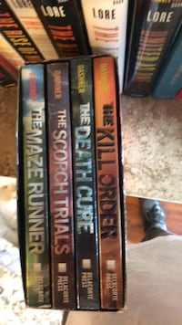 Maze Runner Series Boxset Purcellville, 20132