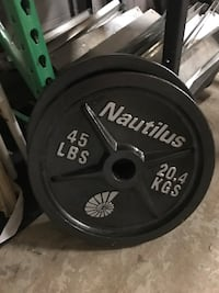 Olympic weight plates  Hamilton, L8W 3A1