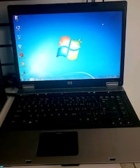 black and gray HP laptop Montreal, H2J 3G9