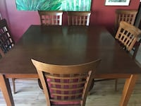 brown wooden dining table set Palm City, 34990