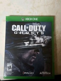 Call of Duty Ghosts Xbox One game case Nicholasville, 40356