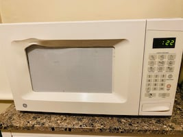 MOVE OUT SALE- White microwave