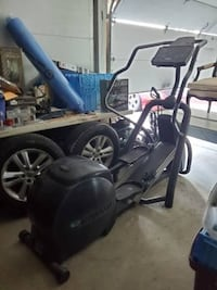 Precor EFX546 Elliptical Crosstrainer Workout GOOD WORKING CONDITION