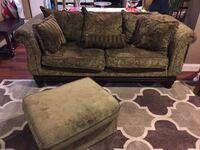 Couch and Ottoman Annandale