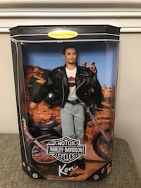 Harley Davidson Ken doll!!! Brand new! PRICE DROP!! Dropped from $60!! Jessup, 20794