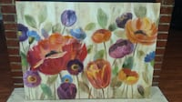 yellow, red, and purple flower painting SPRINGFIELD
