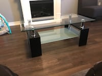 Glass coffee table  Brampton, L7A 0Z9