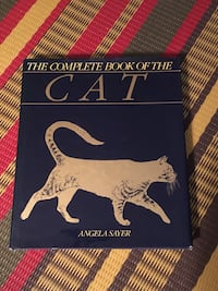 The Complete Book of the Cat coffee table hardcover Toronto, M2M 4H9
