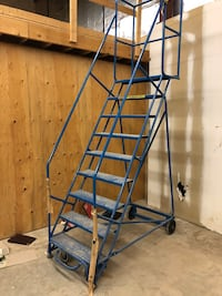 Storage filing ladder