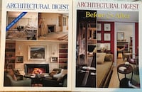 Architectural Digest Magazine: Before & After. $3 ea. Shipping $3.99 Glendale, 91206