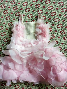 Pink frock size 18