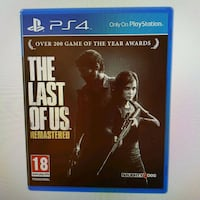 The last of us Remastered PS4 6554 km