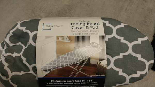 New Mainstays ironing board cover 14x54