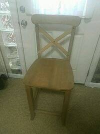 "24"" Counter height chair SET (WHEAT)"