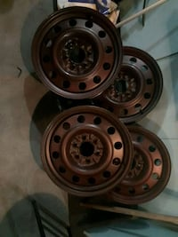 4 Steel 6 bolt 18 in Ford rims Edmonton, T5T 1K6