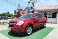 2014 CHEVROLET EQUINOX FWD 4DR LT $2000 Down payme Houston