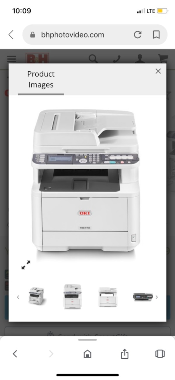 Oki All in one printer d20fe309-d348-4977-b4a8-07b5ad629414