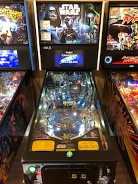 Star Wars Premium Pinball Machine Lutz, 33559