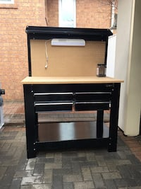 Tool chest work bench