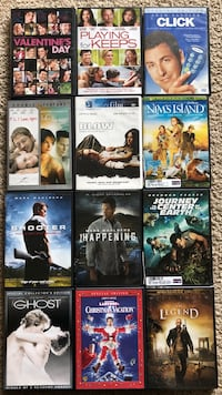 Collection of DVDs !!!