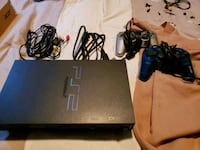 PS2 with controllers and games Caledonia, N3W 1H4