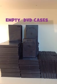 200+DVD EMPTY CASES (Slim, Standard & Series) Brampton, L7A