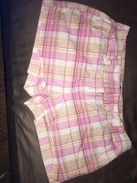 pink and white plaid shorts Cecilia, 42724