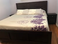 King bed - Basset brand - mattress and box spring not included.  Excellent condition Rockville