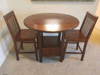 2 Chair dining table w/storage drawer Hyattsville, 20785