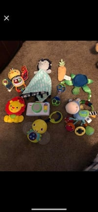 baby's assorted toys