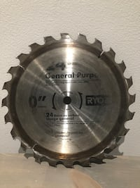 "10"" Table Saw Blade"
