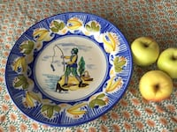 Lario large decorative charger plate Purcellville, 20132
