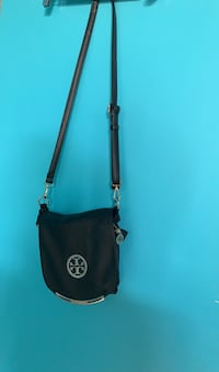 TORY BURCH BLACK SIDE BAG