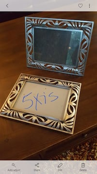 two 5 x 7 photo frames Fort Collins, 80525