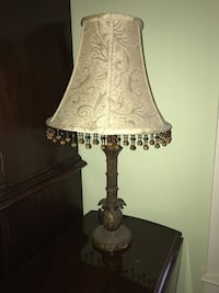 White and gray table lamp Denver, 28037