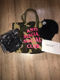 ANTI SOCIAL SOCIAL CLUB - Accessories from $90 to $175 DS Vancouver, V5V 1R5