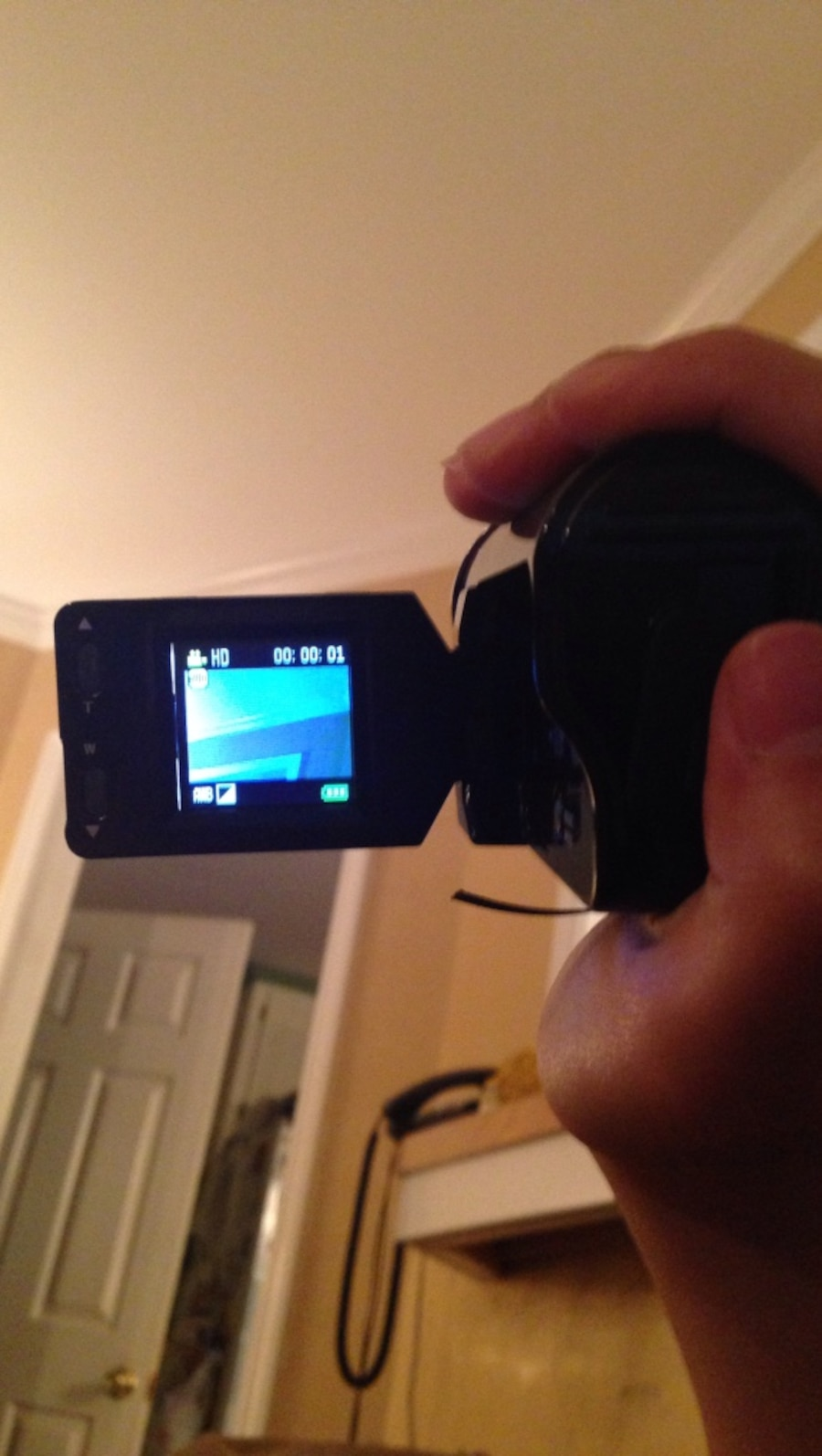 Cheap plastic video camera