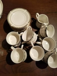 white ceramic teacup lot Springfield, 22153
